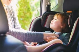 Buckle Up Your Child. Car Seats Help Save Lives